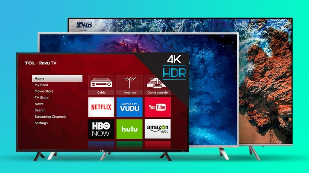 types of smart tv