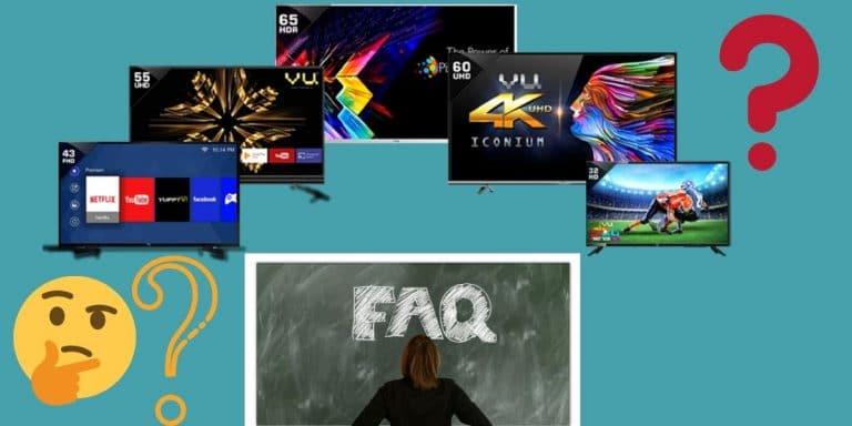 smart tv FAQs