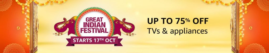 Amazon Great Indian Festival TV Sale