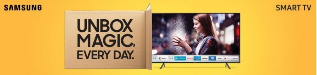 Samsung smart tv deal