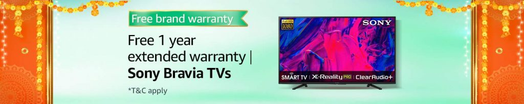 Sony Smart TV Sale on amazon